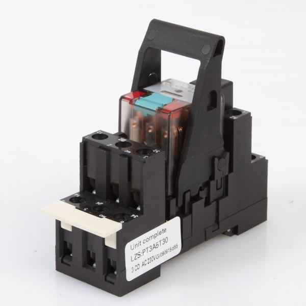 Siemens LZS:PT3A5T30 Monostabiles Relais, 230V AC Spule, Complete Unit