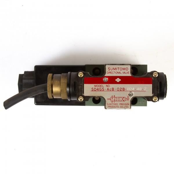 Sumitomo Magnetventil SD4GS-AcB-02B-D24-40-Z